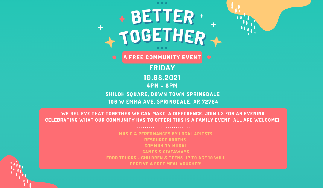 Better Together: A Community Event